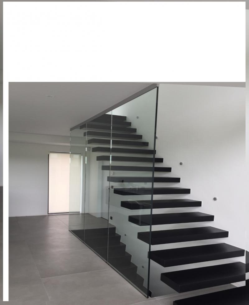 Siroco - Garde corps - Cloison d'escalier