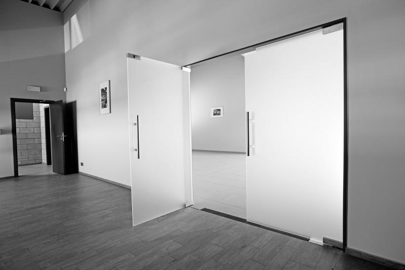 Siroco - Portes - Double porte en verre acide